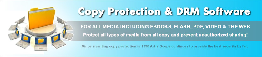Copy protection for all documents and web media