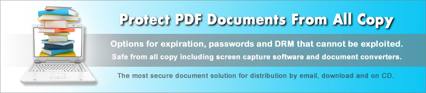 Copy Protect PDF from Printscreen and Screen Capture